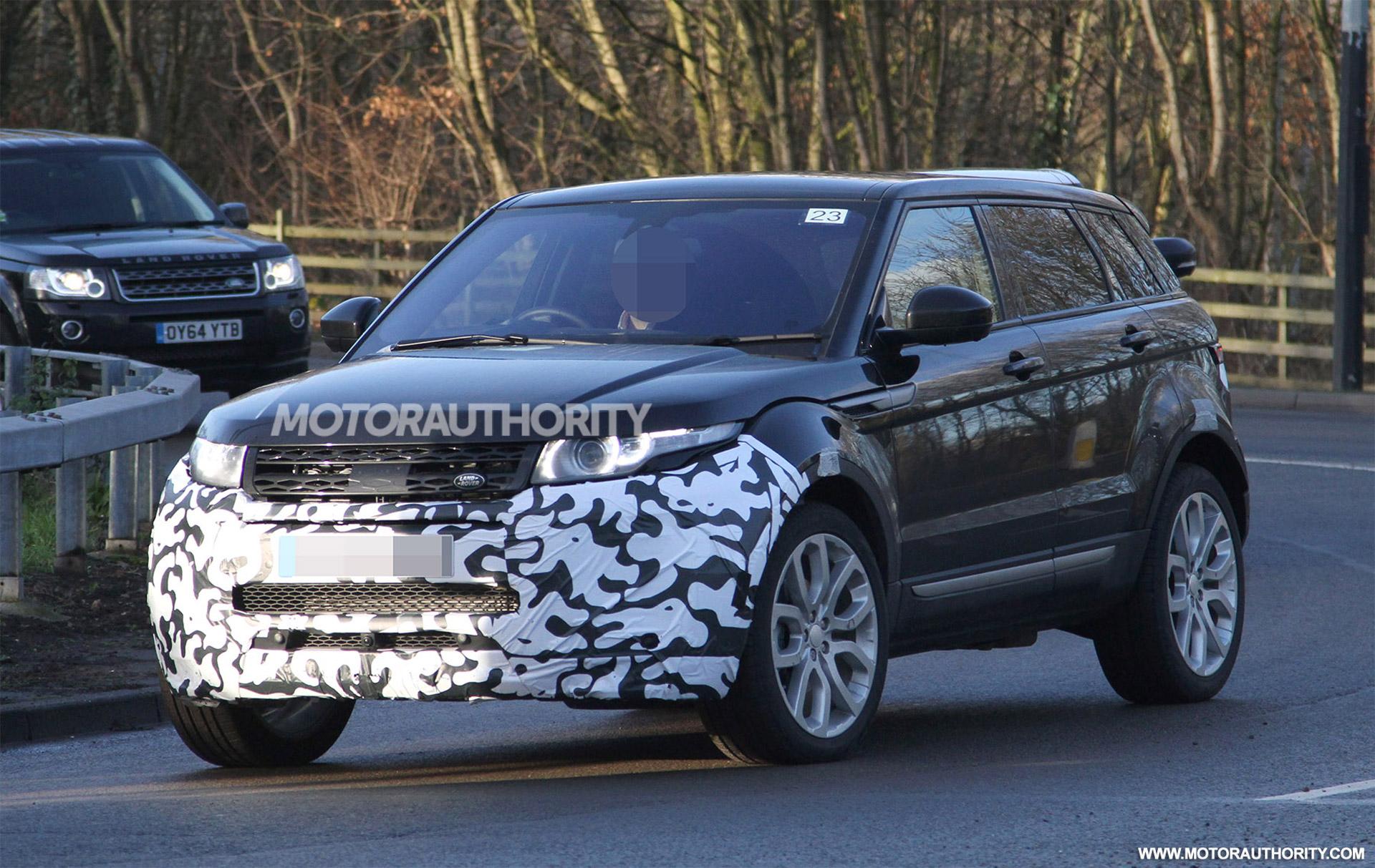 2016 Land Rover Range Rover Evoque Spy Shots