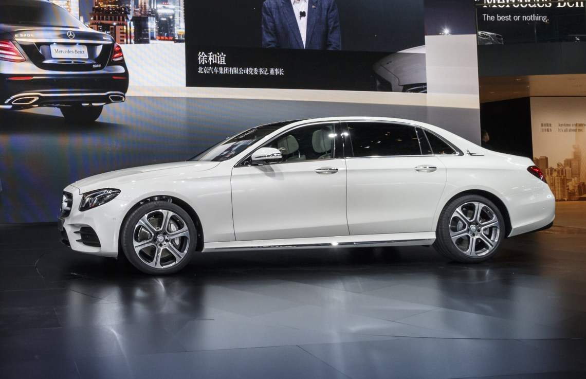 long-wheelbase mercedes-benz e-class launches in china