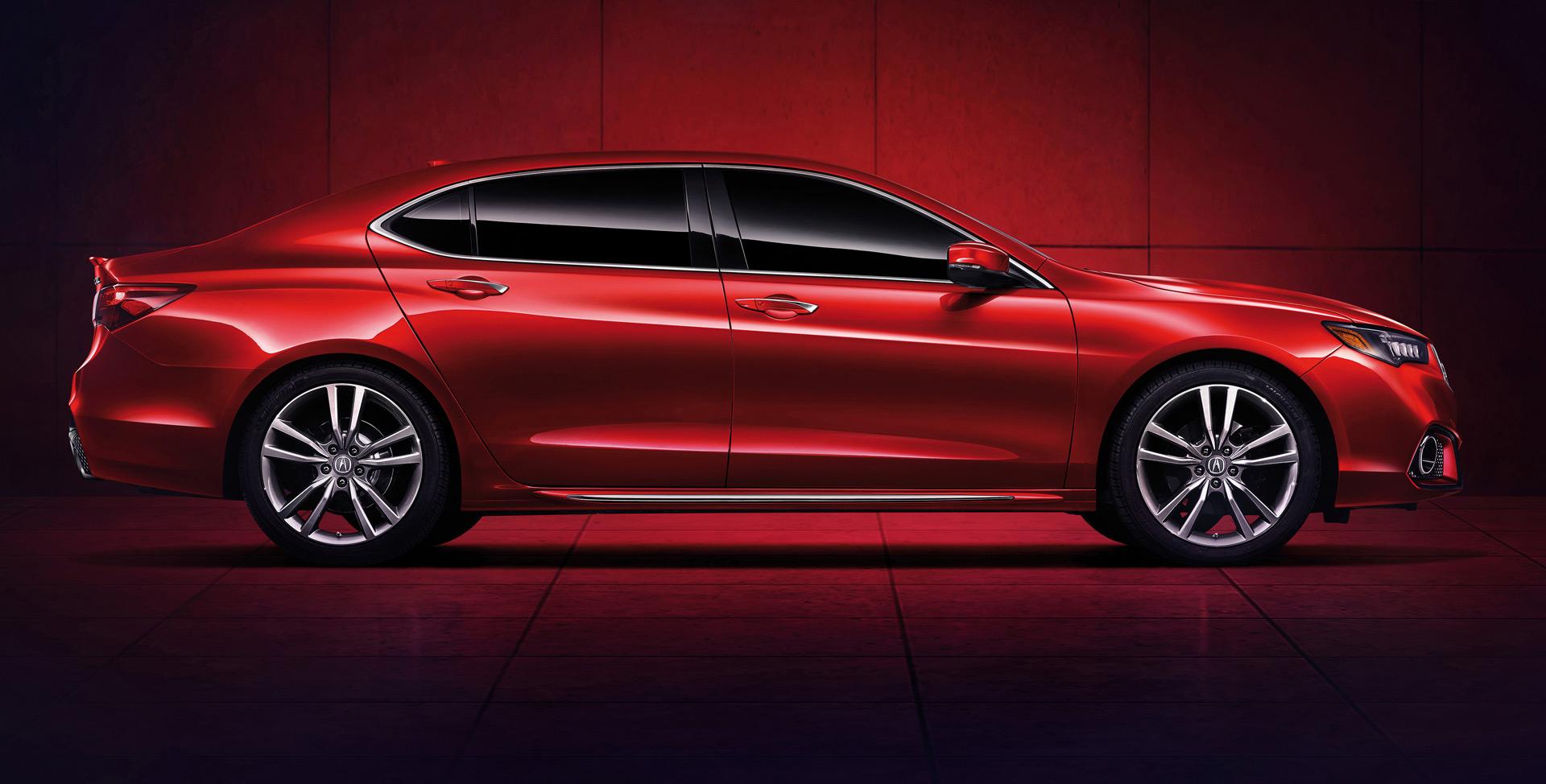 Long Wheelbase Acura TLX L Debuts At 2017 Shanghai Auto Show