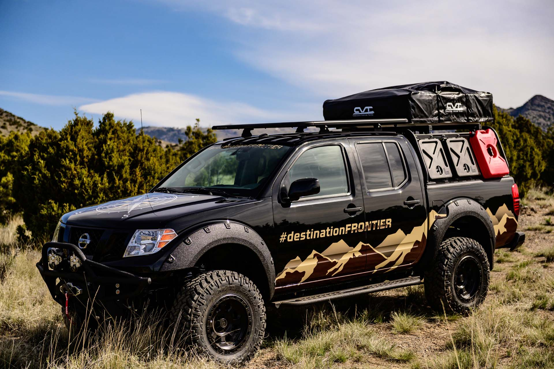 Can someone move the pilot? someone would call over the radio. Overlander Nissan Frontier truck has its compass pointed