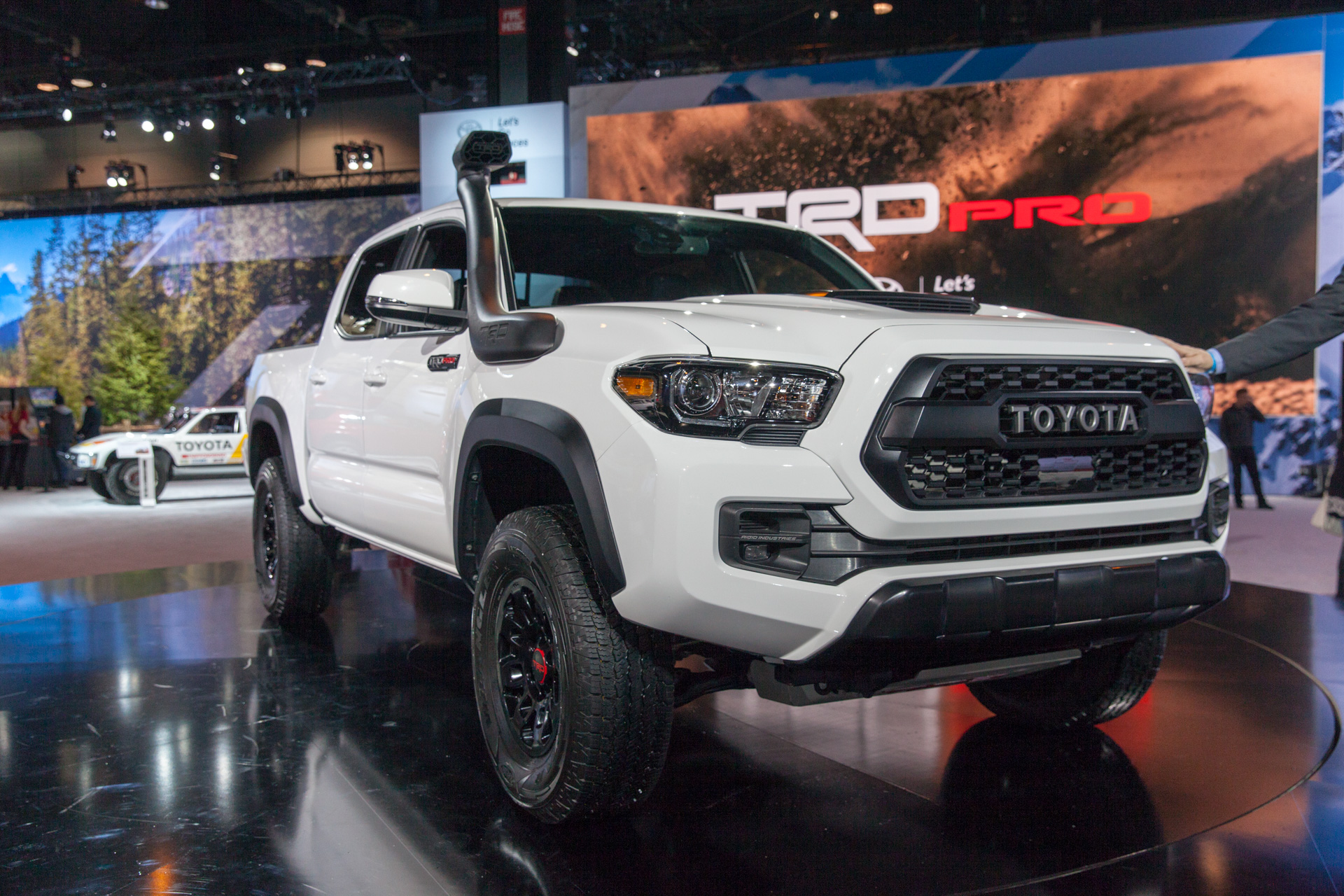 2019 toyota trd pro off road lineup
