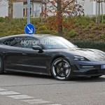 2021 Porsche Taycan Cross Turismo Spy Shots Electric Wagon Sheds Camo