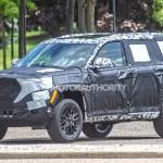 2022 Jeep Grand Cherokee Based 3 Row Suv Spy Shots