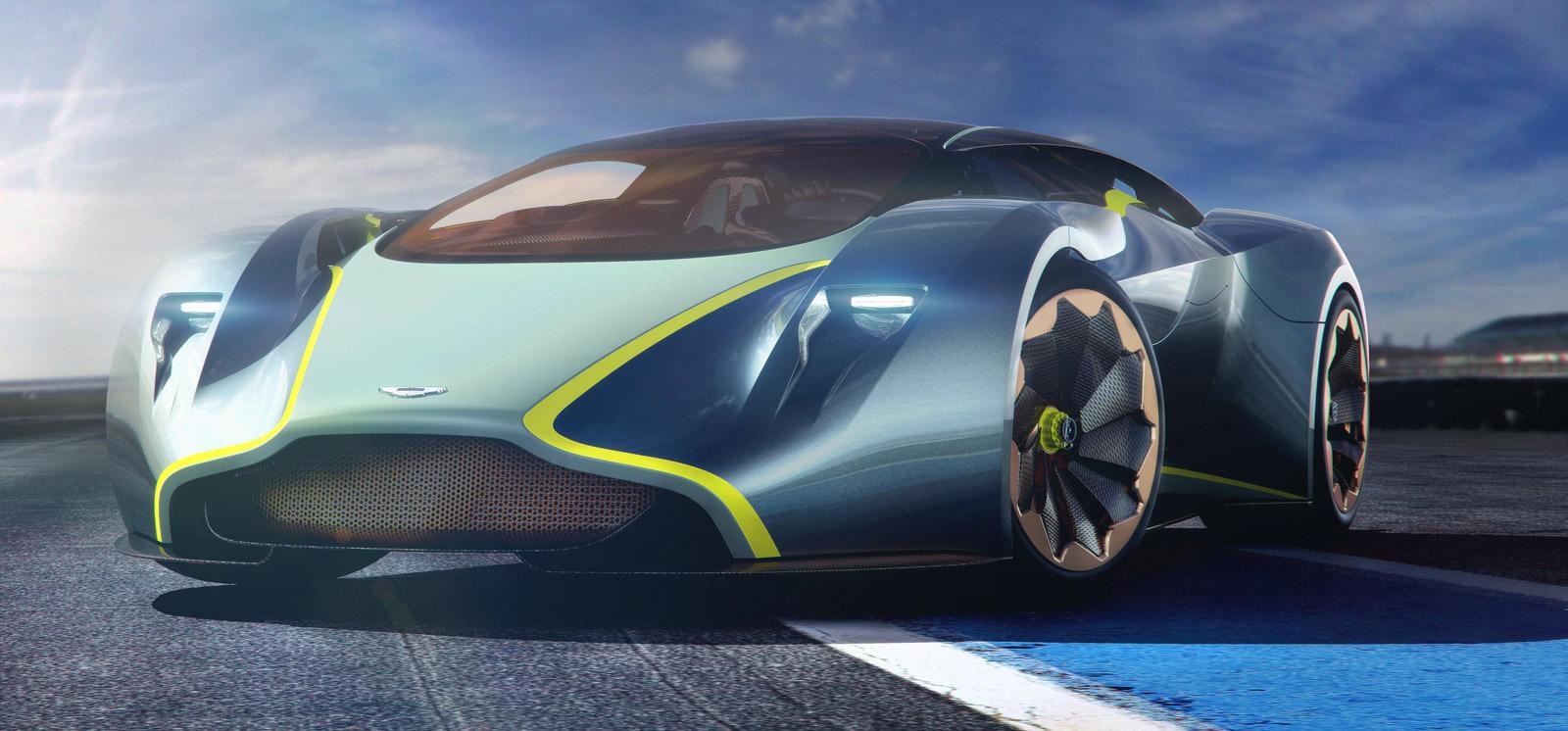 Aston Martins Vision Gran Turismo Concept Is The DP 100
