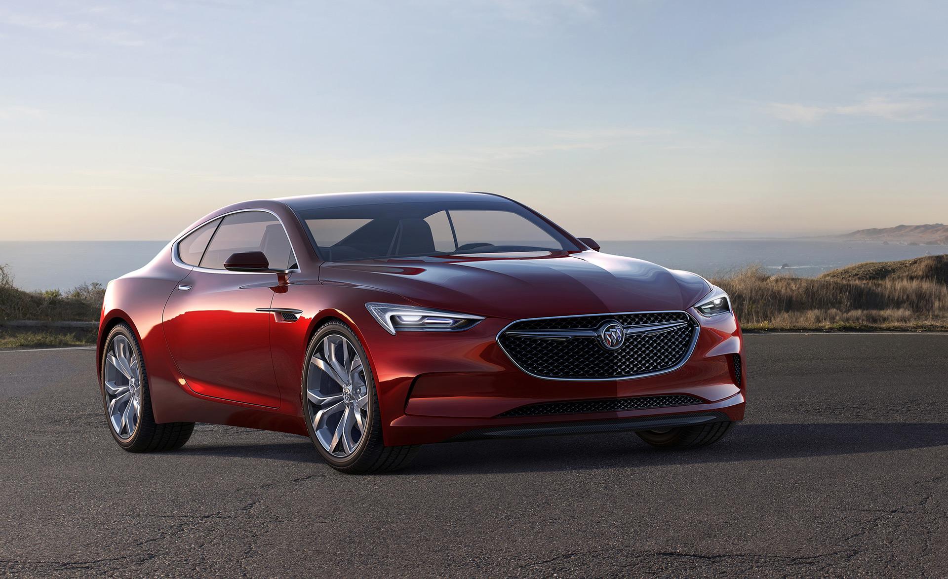 Buick Rolls Out Second Avista Concept Downplays