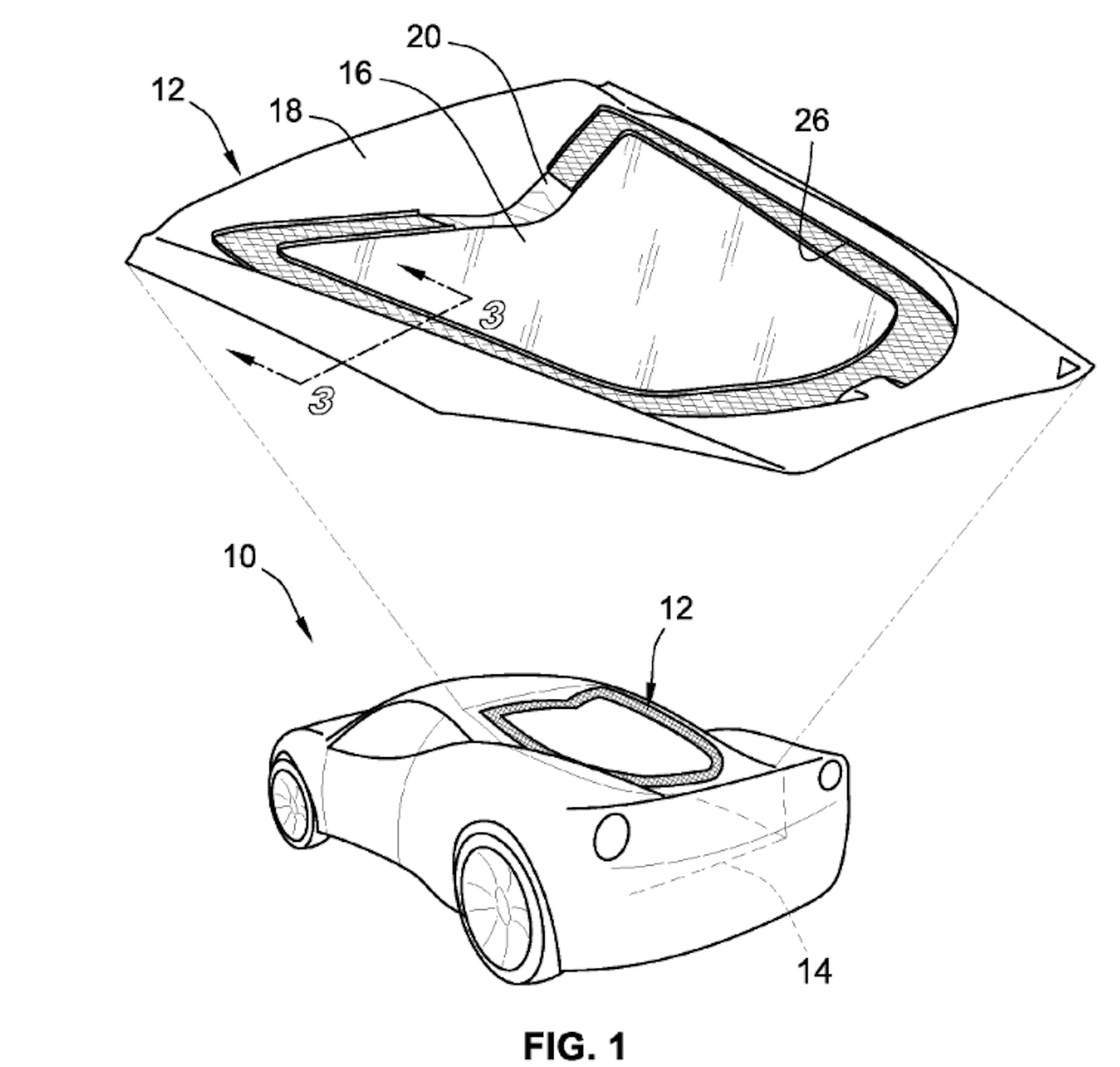 Gm Patents Mid Engine Corvette Hatch With Cooling Techniques