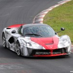 Ferrari Laferrari Attacks The Nurburgring Video