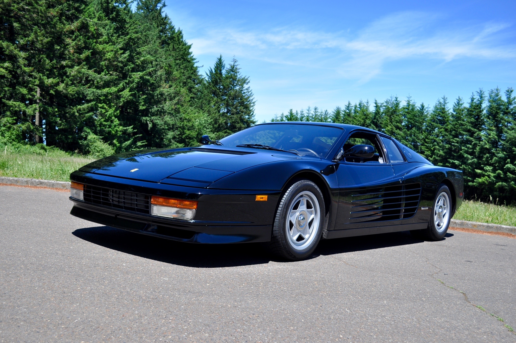 1988 Ferrari Testarossa Time Machine Test Drive