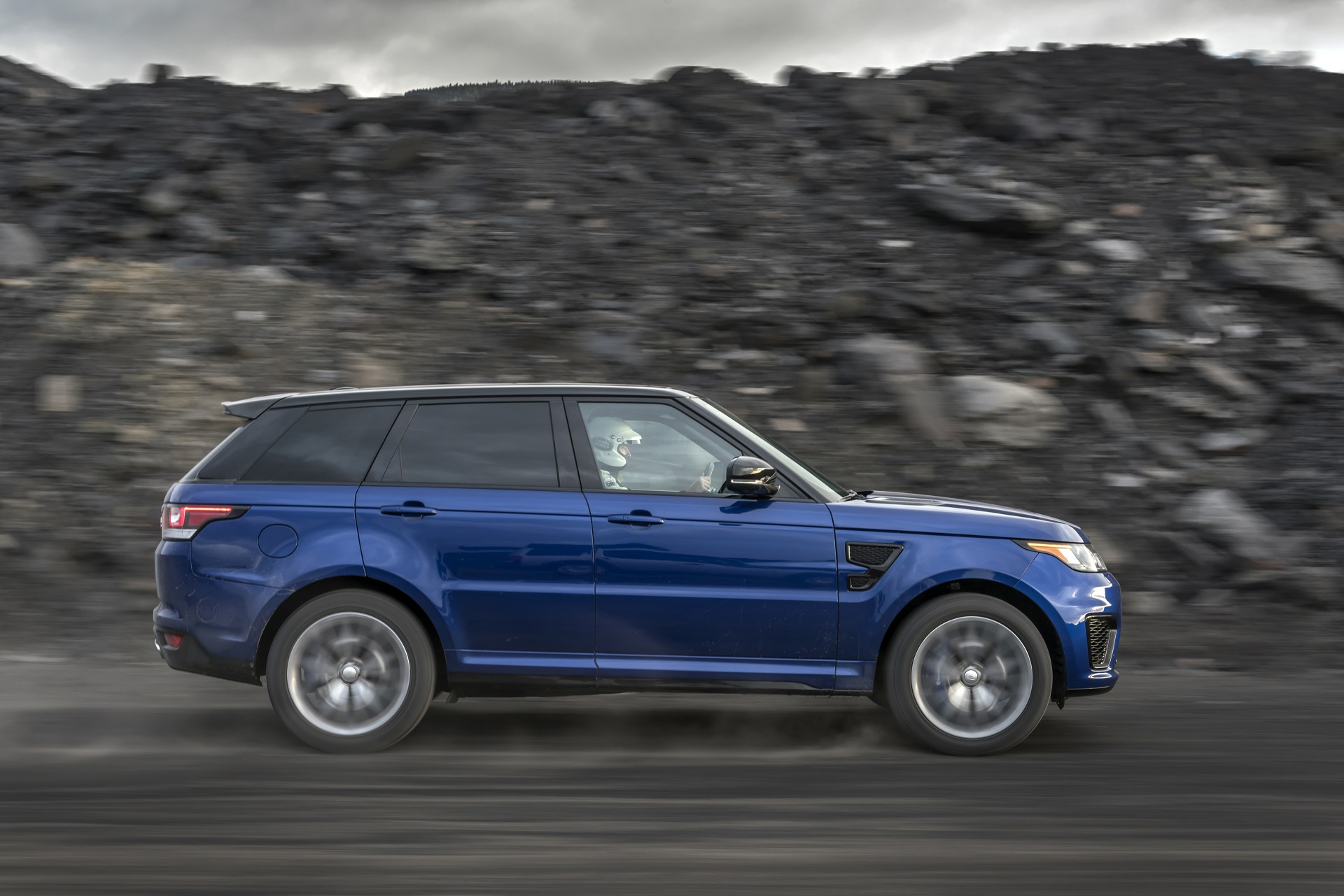 Land Rover conducts all terrain 0 60 mph testing with the Range
