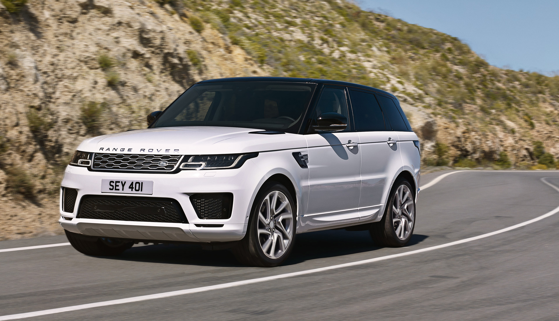 2019 Range Rover Sport P400e plug in hybrid on sale in US in