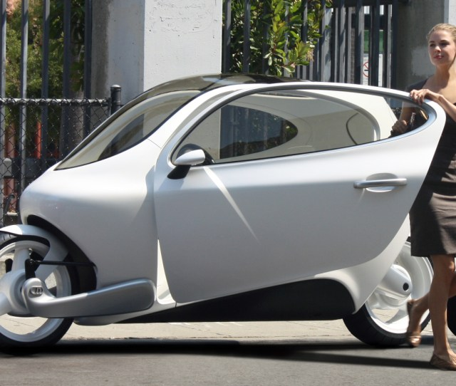 Lit Motors C1 The Car Like Motorcyle That Cant Fall Down