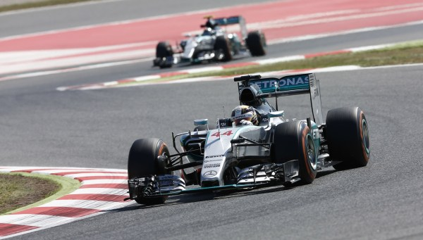 Rosberg Edges Out Hamilton For 2015 Formula One Spanish ...