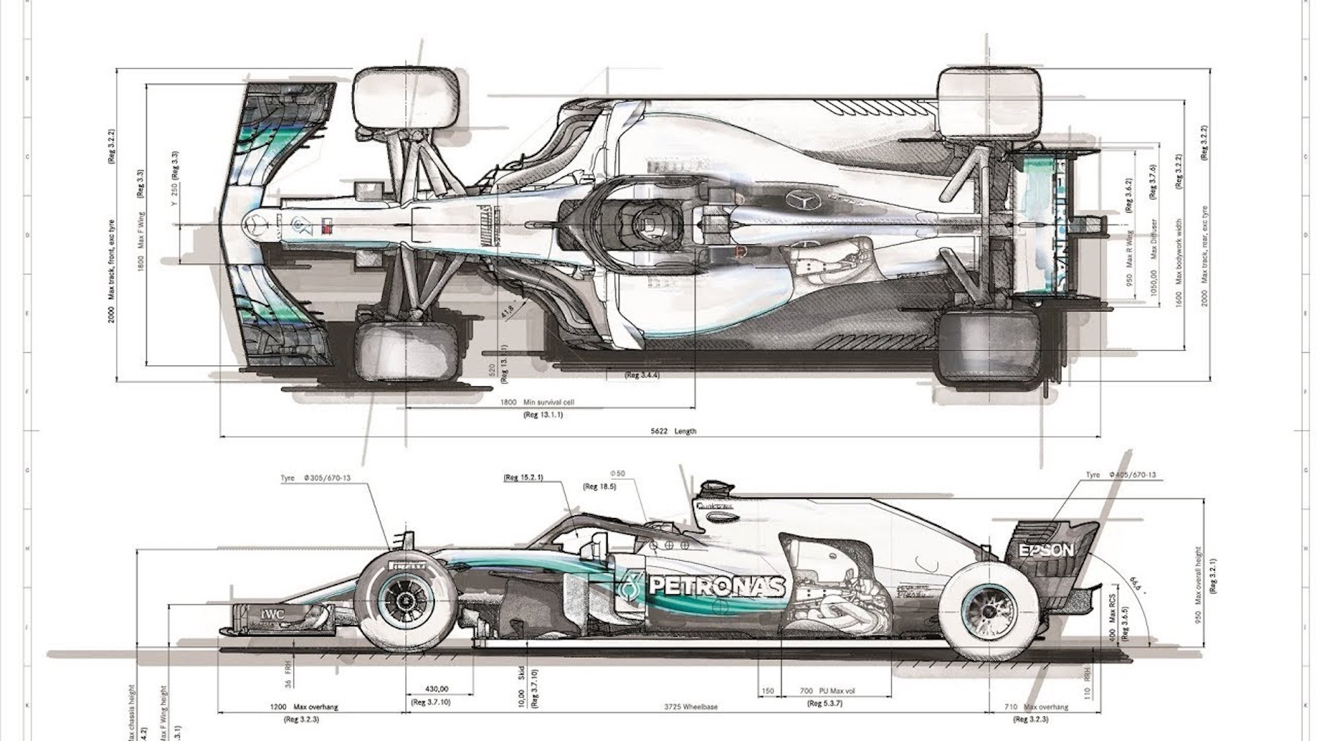 Learn How An F1 Race Car Is Born