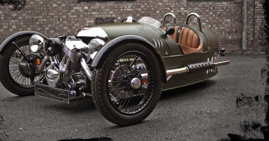 Jay Leno explains the history of Morgan 3 Wheeler and why owning one is so much fun