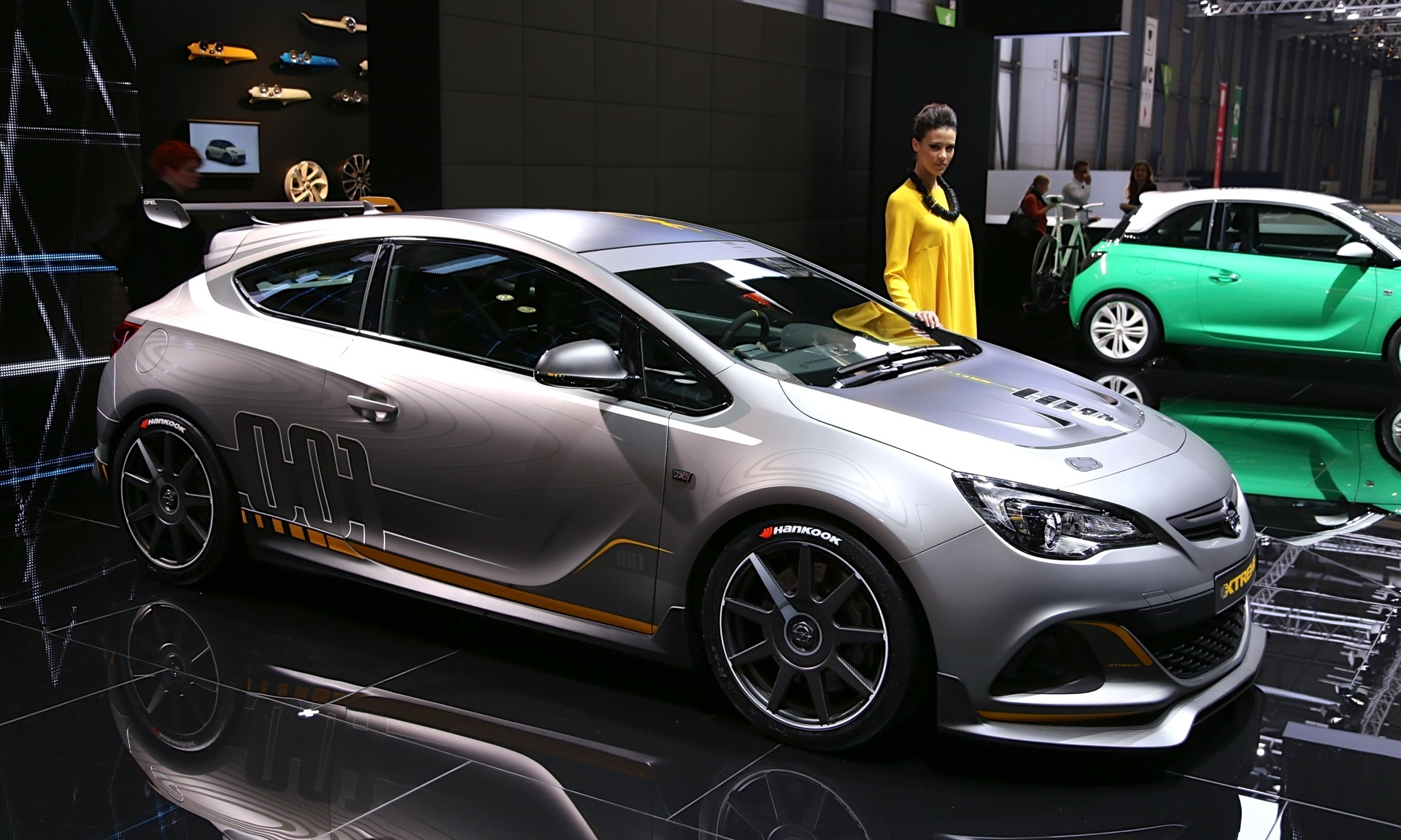Opel Astra OPC Extreme Road Going Racer Live Photos And