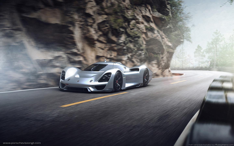 Independent Designers Create Virtual Porsche Vision Gran