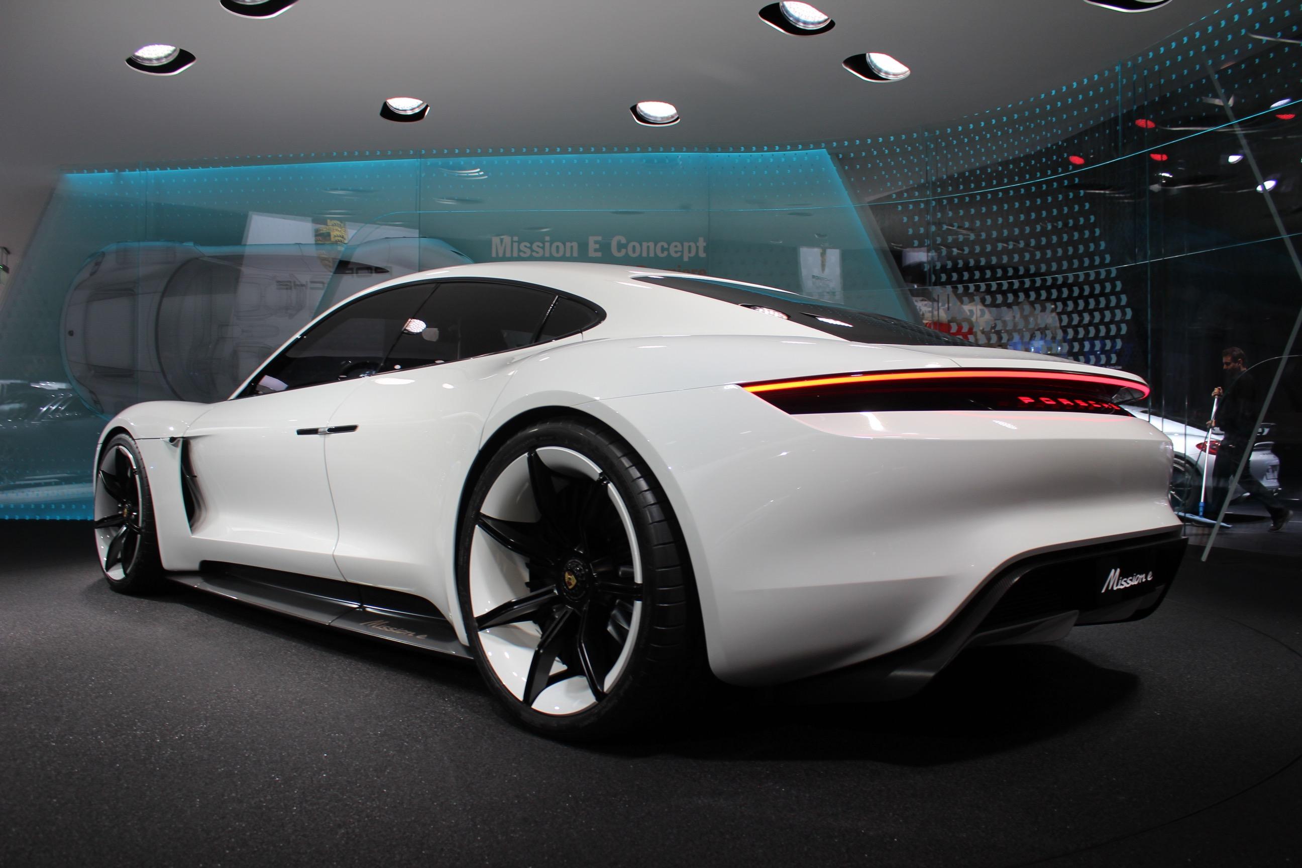 Porsche Amp Audi Electric Concepts LAPD Tesla VW Diesel