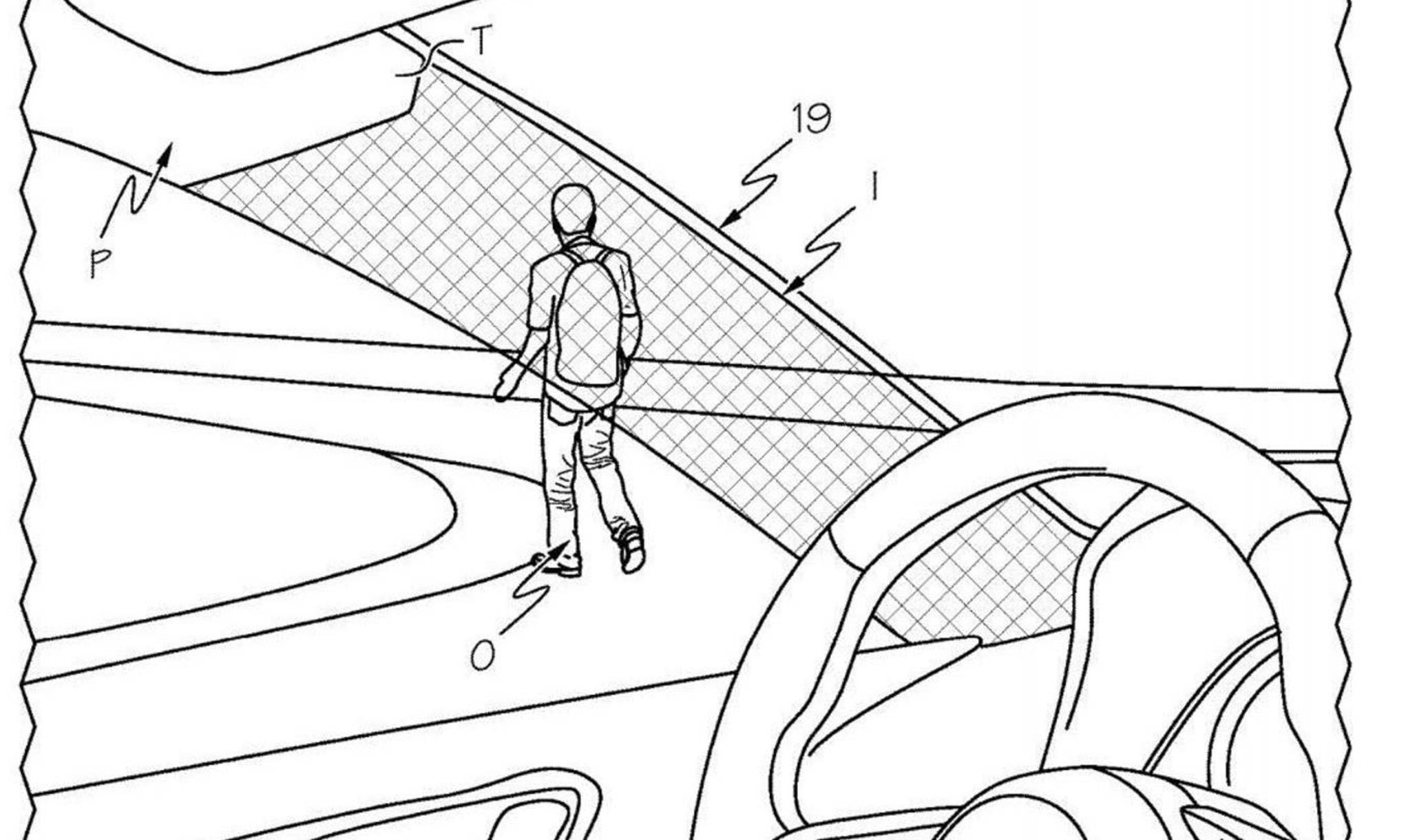 Toyota Patent Shows Device That Can Make Car Pillars
