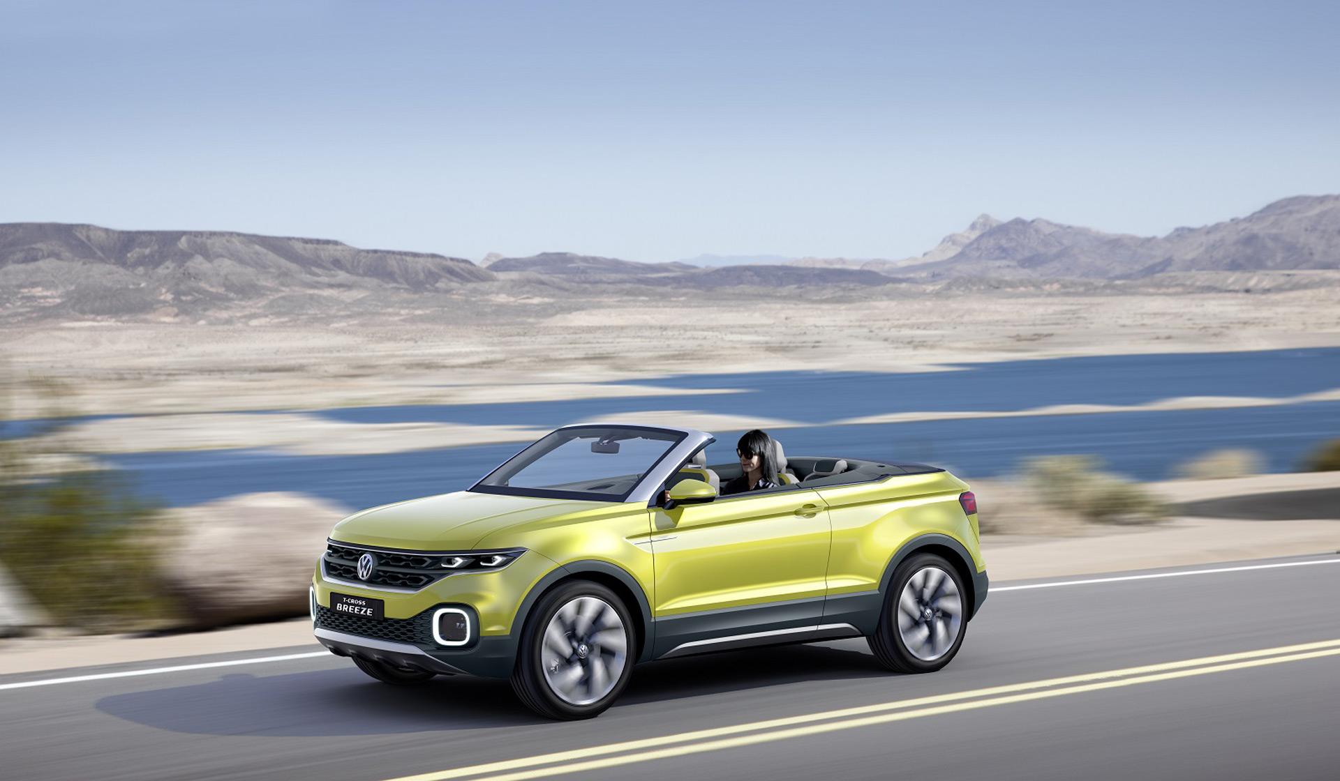 VW T Cross Breeze Concept in Geneva previews new small SUV