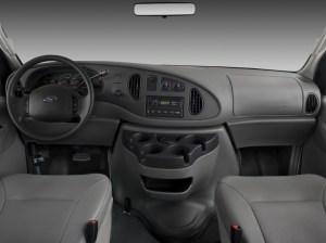 Image: 2008 Ford Econoline Cargo Van E250 Commercial