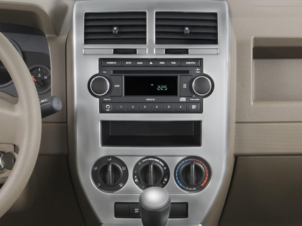 Image 2008 Jeep Compass FWD 4 Door Sport Instrument Panel