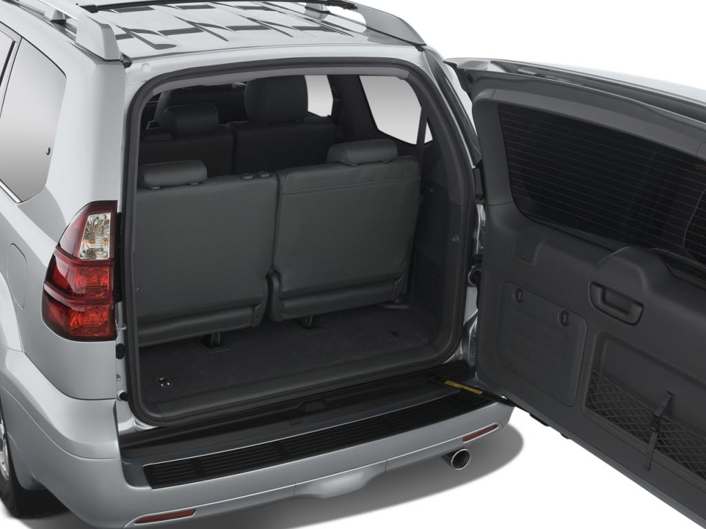 Image 2008 Lexus GX 470 4WD 4 Door Trunk Size 1024 X