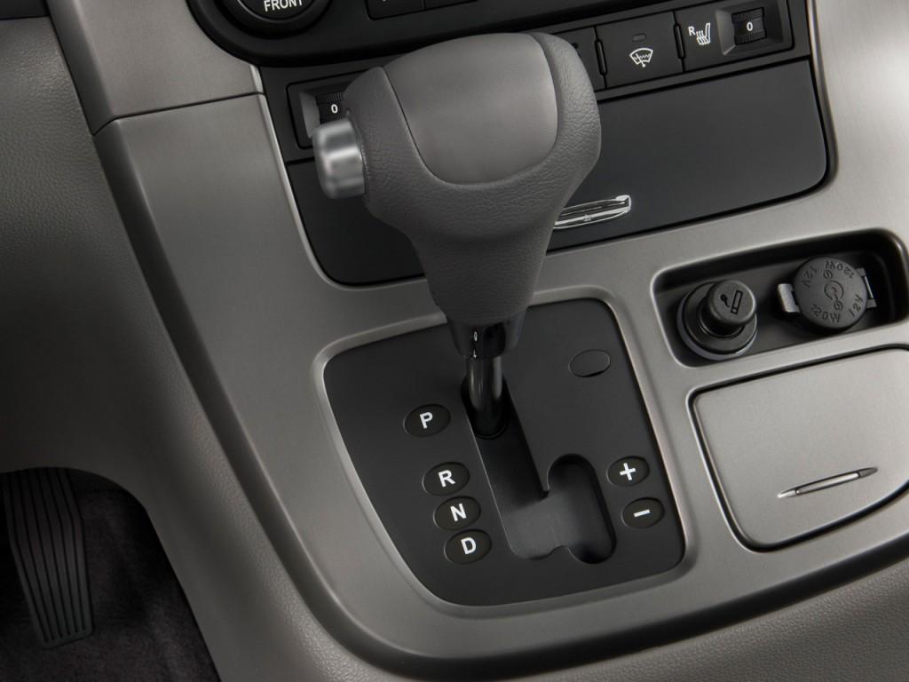 Image 2009 Kia Sedona 4 Door Lwb Ex Gear Shift Size