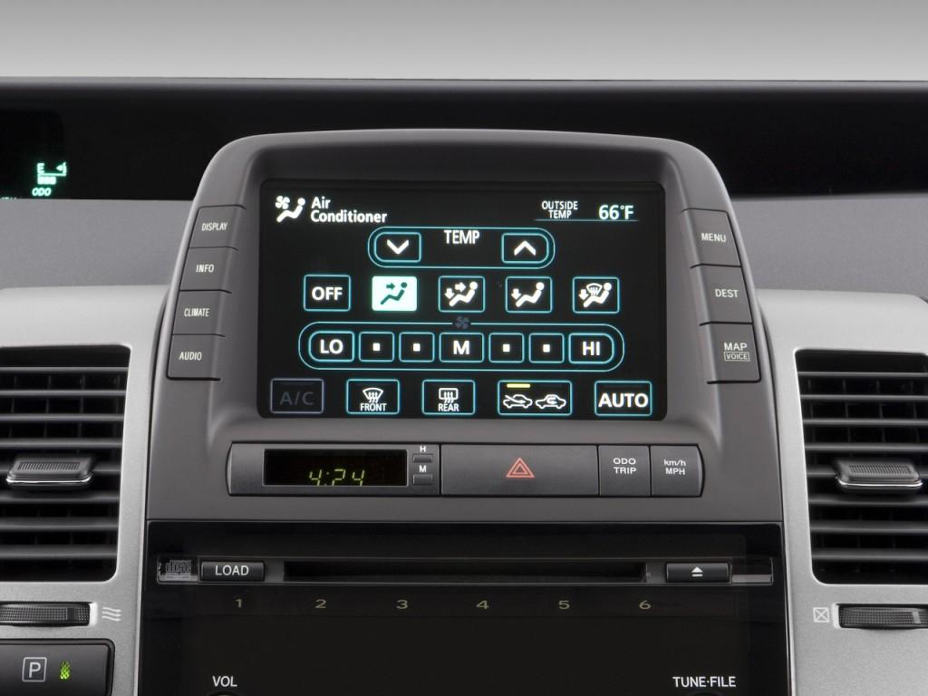 Image 2009 Toyota Prius 5dr Hb Natl Temperature
