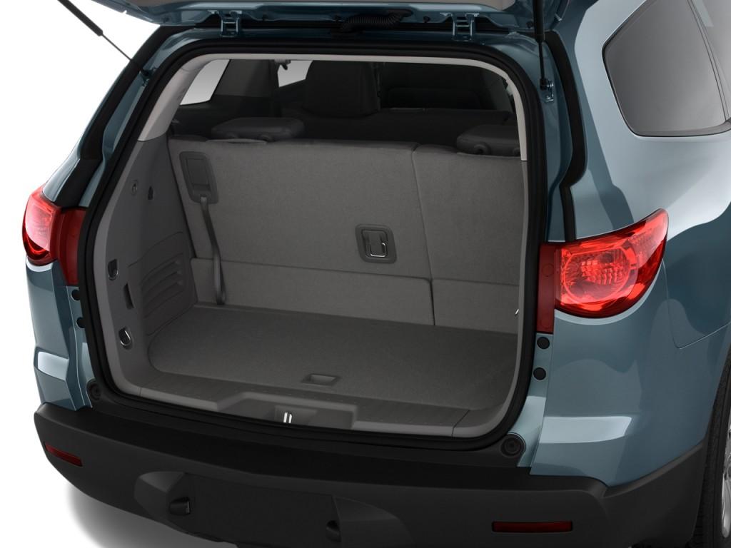Image 2010 Chevrolet Traverse FWD 4 Door LS Trunk Size