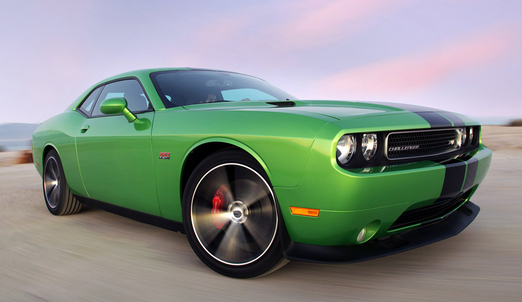2011 Dodge Challenger R T And Srt8 392 Get Green With