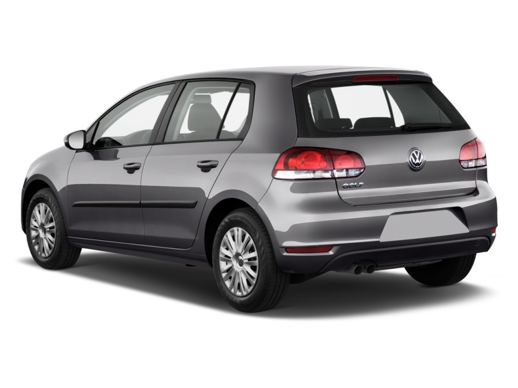 Image 2011 Volkswagen Golf 4 Door Hb Auto Angular Rear
