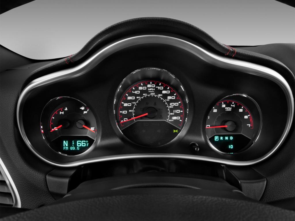 Image 2012 Dodge Avenger 4 Door Sedan SXT Instrument