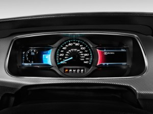 Image: 2013 Ford Taurus 4door Sedan SHO AWD Instrument