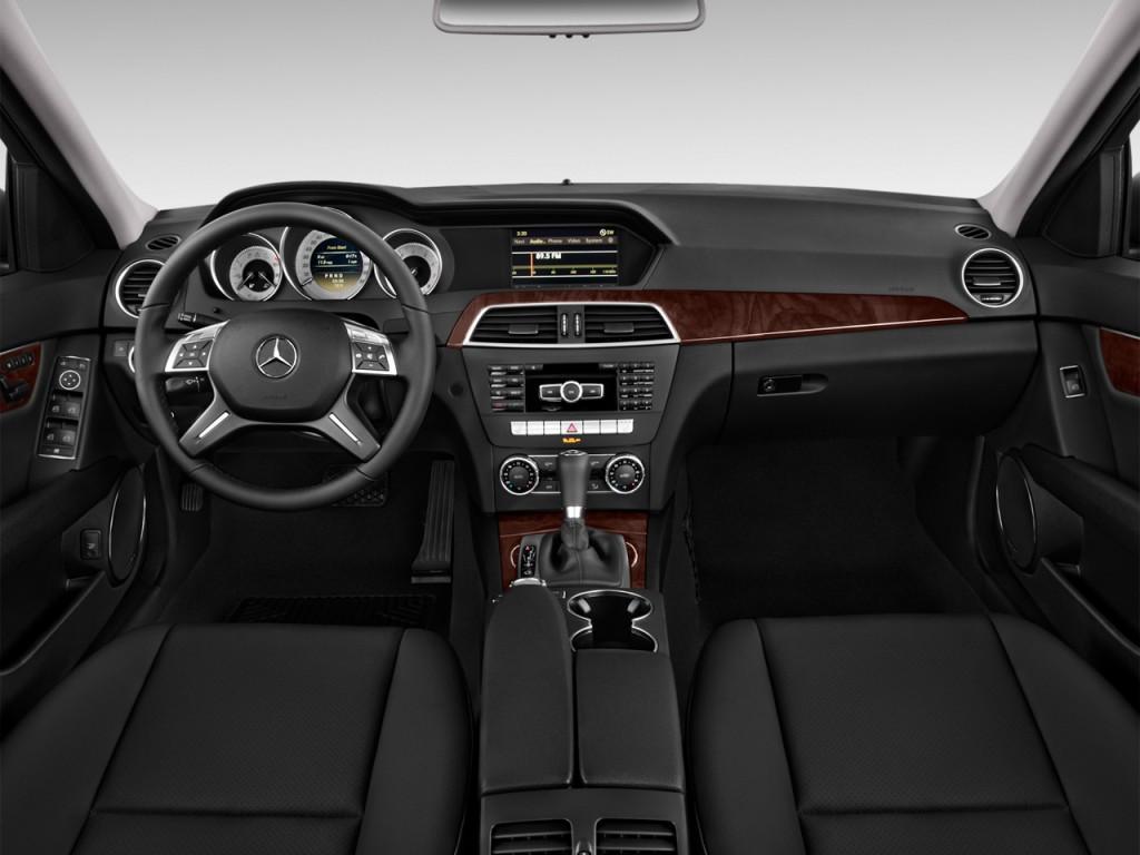 2013 Mercedes C250 Luxury Sedan Black