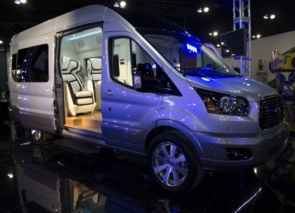 Ford Transit Skyliner Concept Is The New York Auto Show S Party Van