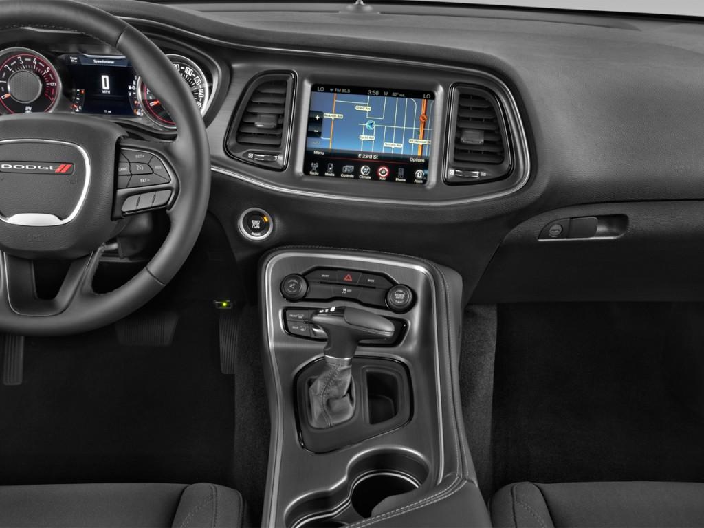 Image 2016 Dodge Challenger 2 Door Coupe Sxt Instrument Panel Size 1024 X 768 Type Gif