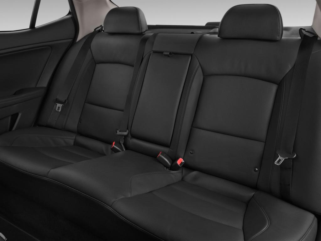 Image 2016 Kia Optima Hybrid 4 Door Sedan EX Rear Seats