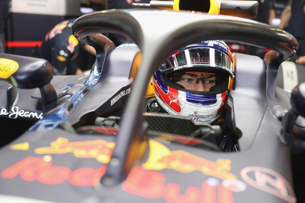 Red Bull Not A Fan Of F1s Proposed Halo Cockpit Protection