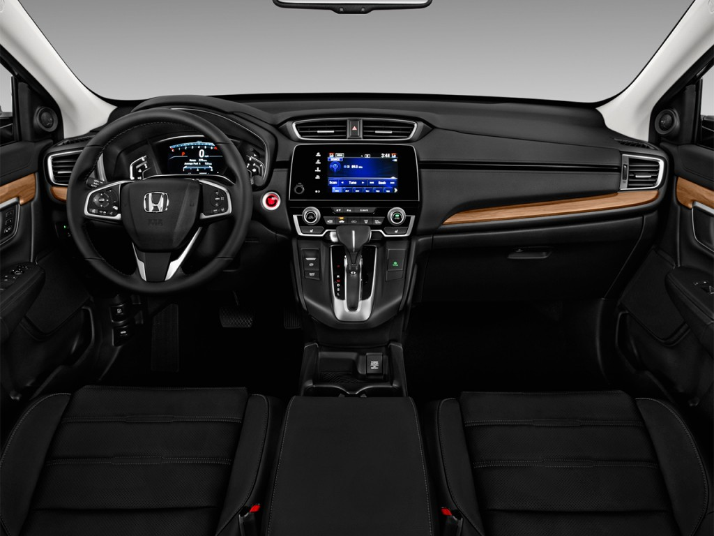 Image 2017 Honda CR V EX L 2WD Dashboard Size 1024 X