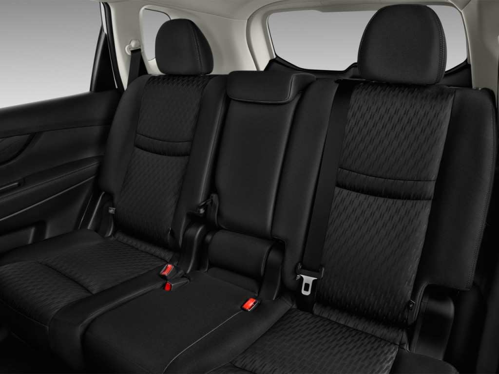 Image 2017 Nissan Rogue Fwd S Rear Seats Size 1024 X