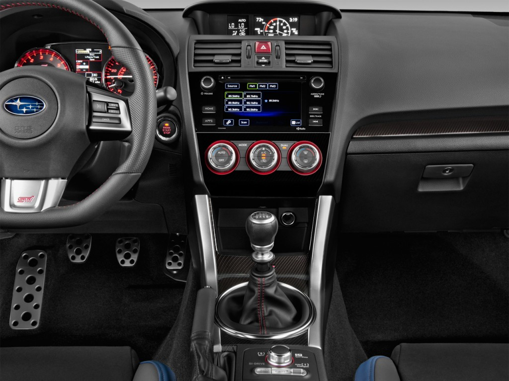 Image 2017 Subaru Wrx Sti Manual Instrument Panel Size