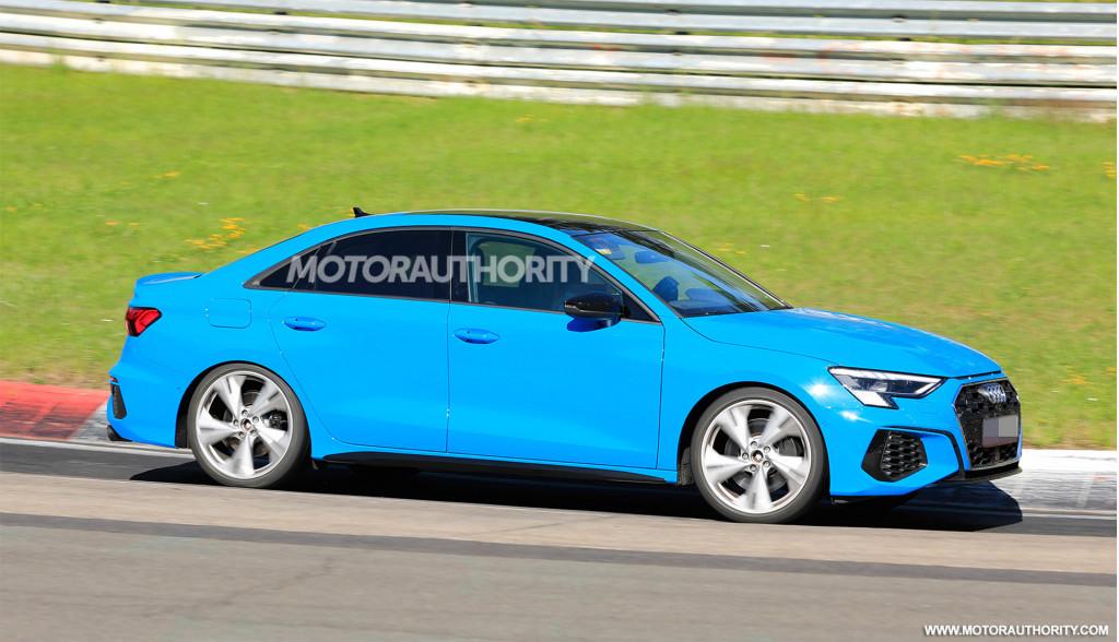 2021 Audi S3 spy shots - Photo credit:S. Baldauf/SB-Medien