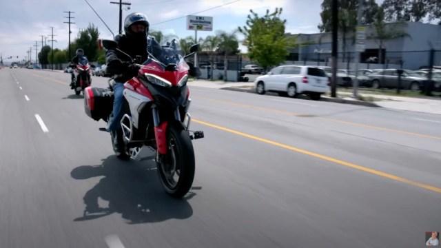 2021 Ducati Multistrada V4 on Jay Leno's Garage