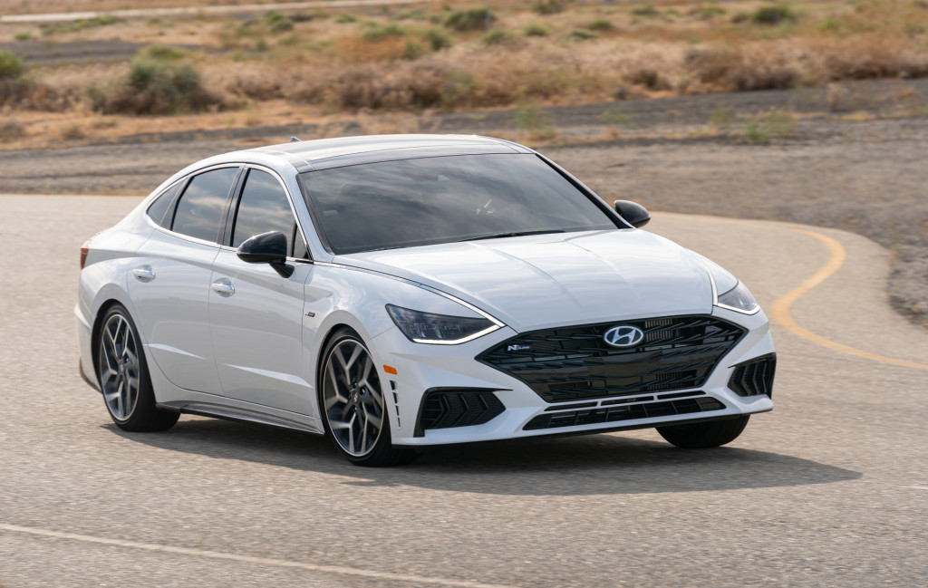 Although its wider and longer than the outgoing model. First Drive Review 2021 Hyundai Sonata N Line Is A Monster Hiding In Plain Sight