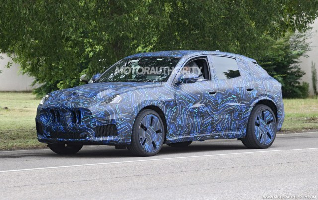 2022 Maserati Grecale spy shots - Photo credit:S. Baldauf/SB-Medien