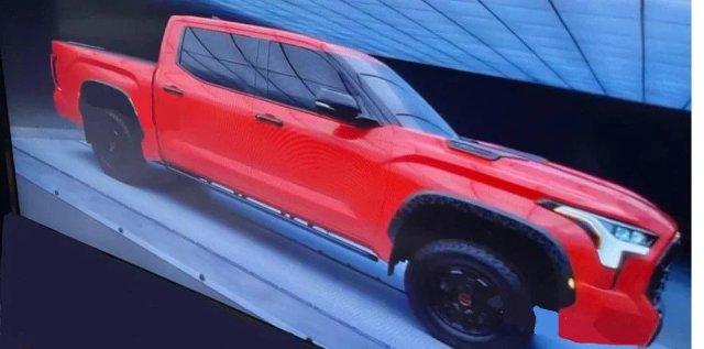2022 Toyota Tundra leaked via Tundra.com forum