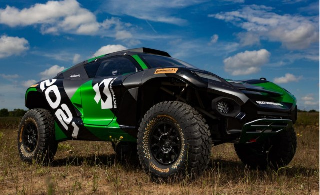 Extreme E electric racing SUV