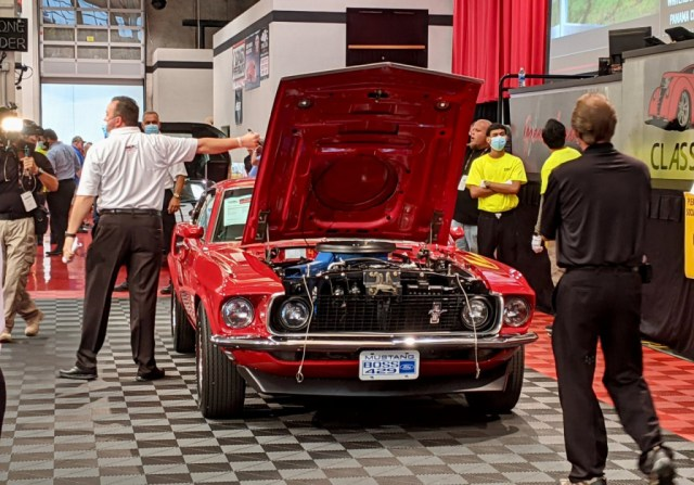 Ford Mustang Boss 429 on the block