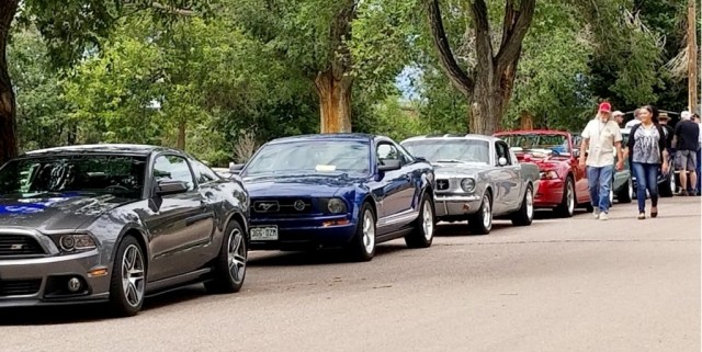 Mustangs of all ages are among popular first collector vehicles | Rocky Mountain Mustangers photo