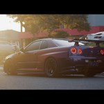 Zone Out As This R34 Nissan Skyline Gt R Vspec Ii Gets A Bath